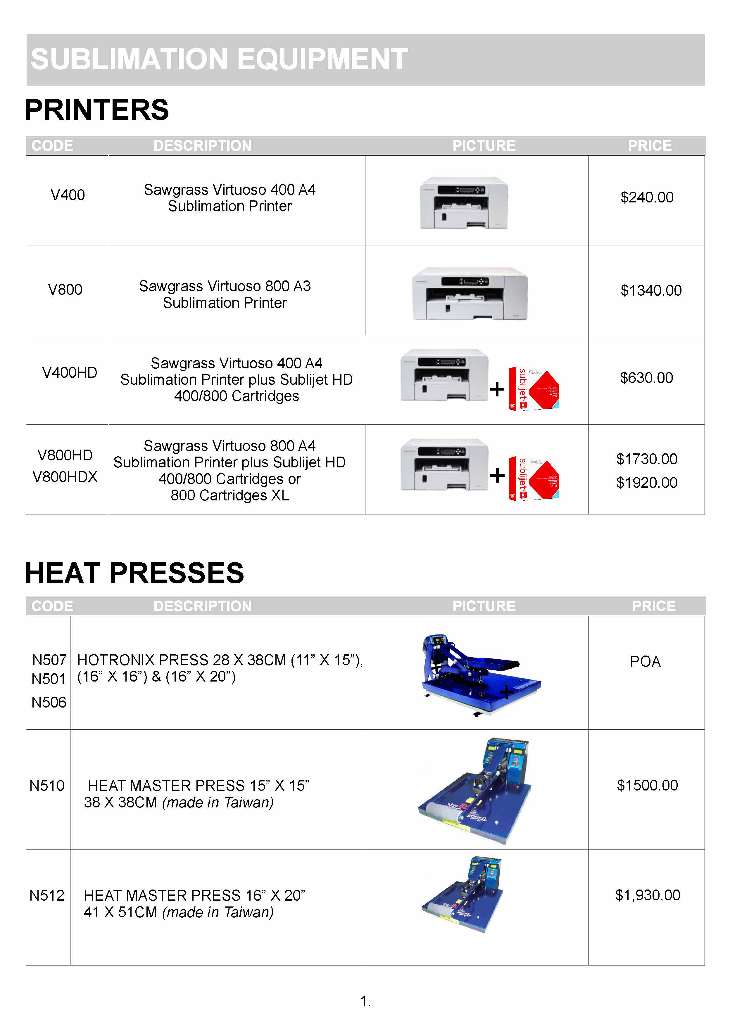 Heat-Presses-Printers